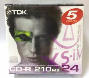 Диск CD-R mini TDK 80mm 210MB 24x slim case/100 Оперативная полиграфия в Киеве. Печать на бумаге, Дисках, визитках - Dam.net.ua