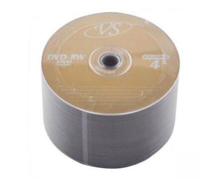 Диск DVD-RW VS 4.7GB 120MIN 1-4x bulk 50 Оперативная полиграфия в Киеве. Печать на бумаге, Дисках, визитках - Dam.net.ua