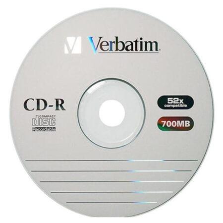 Диск CD-R Verbatim 700MB 80min 52x bulk 50 Оперативная полиграфия в Киеве. Печать на бумаге, Дисках, визитках - Dam.net.ua
