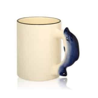 Детская кружка с ручкой Дельфин
