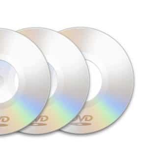 Чистые DVD диски