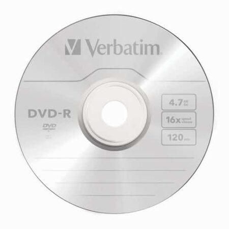 Диск DVD-R Verbatim 4.7GB 120min 16x bulk 100 Оперативная полиграфия в Киеве. Печать на бумаге, Дисках, визитках - Dam.net.ua