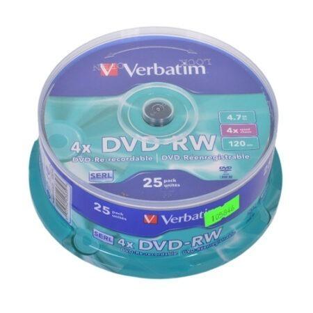 Диск DVD-RW mini Verbatim 8cm 1.4GB 30 min 2x 10 pack Оперативная полиграфия в Киеве. Печать на бумаге, Дисках, визитках - Dam.net.ua