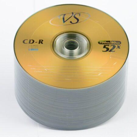 Диск CD-R VS 700MB 80MIN 52x bulk 100 Оперативная полиграфия в Киеве. Печать на бумаге, Дисках, визитках - Dam.net.ua