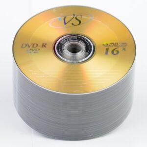 Диск DVD-R VS 4.7GB 120MIN 16x bulk 50 Оперативная полиграфия в Киеве. Печать на бумаге, Дисках, визитках - Dam.net.ua