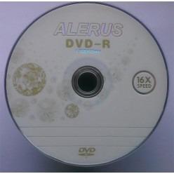 Диск DVD-R ALERUS 4.7GB 120min 16x bulk 100 Оперативная полиграфия в Киеве. Печать на бумаге, Дисках, визитках - Dam.net.ua