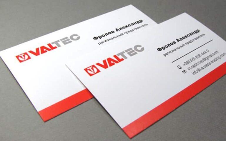Визитки для инжиниринговой компании