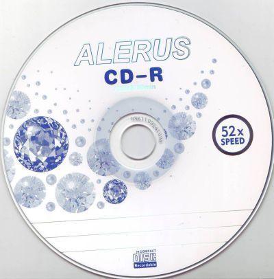 Диск CD-R ALERUS 700MB 80min 52x bulk 50 Оперативная полиграфия в Киеве. Печать на бумаге, Дисках, визитках - Dam.net.ua